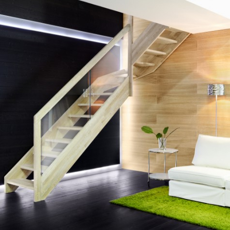 Scala in legno Bitrave 252